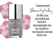 Διαγωνισμός Beautytalk με δώρο ένα βερνίκι νυχιών Nails Inc.