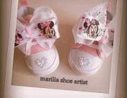 c737deefa8b Διαγωνισμός για ένα ζευγάρι παπουτσάκια αγκαλιάς, προσφορά της αγαπημένης  σελίδας Marilia Shoe artist