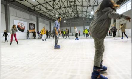 Διαγωνισμός Taλκ με δώρο πρόσκλησεις για το παγοδρόμιο Ice n' Skate