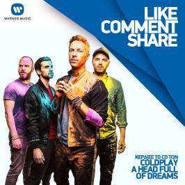 Διαγωνισμός για τo CD των Coldplay #AHeadFullOfDreams