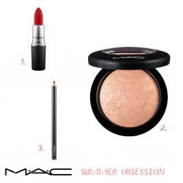 Διαγωνισμός με δώρο 3 προϊόντα make up της MAC COSMETICS