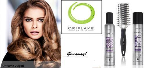 Διαγωνισμός με δώρο 3 προιοντα μαλλιων Oriflame