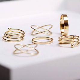 Διαγωνισμός για set από 6 μεταλλικά δαχτυλίδια