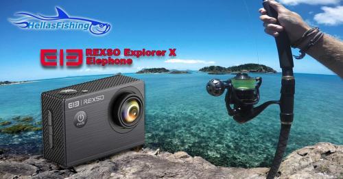Διαγωνισμός για 1 Elephone REXSO Explorer X Sports Camera