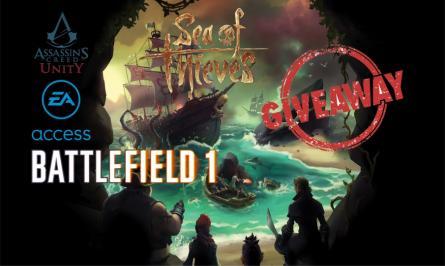 Διαγωνισμός για sea Of Thieves, Battlefield 1, Battlefield 1943, Assasin's Creed : Unity, 1 Μήνα συνδρομή στο EA Acces