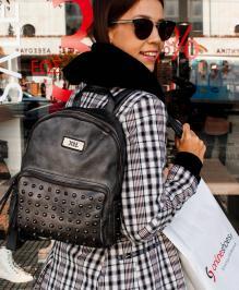 Διαγωνισμός με δώρο έρχεται το αγαπημένο FALL'18 #giveaway με δώρο ένα super stylish backpack σε γκρι-μεταλλική απόχρωση .