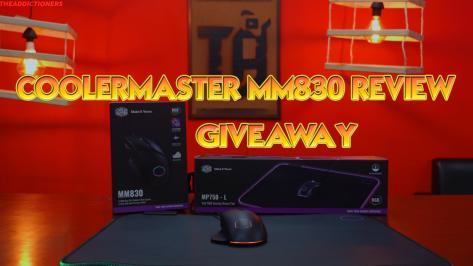 Διαγωνισμός για coolerMaster MM830  CoolerMasterMousepad