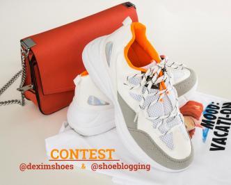 Διαγωνισμός για ένα υπέροχο chunky sneaker που είναι η top τάση της άνοιξης.