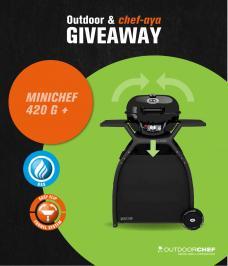 Διαγωνισμός για ψησταριά υγραερίου MINICHEF 420 G