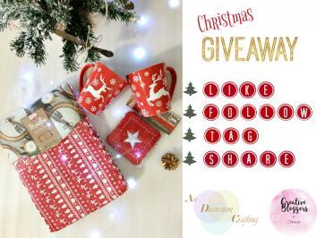 Διαγωνισμός για ενα χριστουγεννιάτικο τραπεζομάντηλο, Δύο χριστουγεννιάτικες κούπες, Ένα σετ χριστουγεννιάτικα σουβέρ