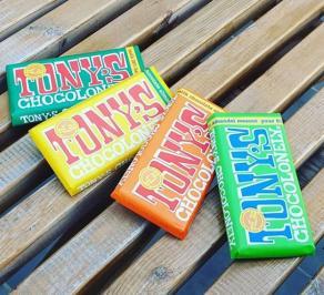Διαγωνισμός με δώρο ένα πακέτο με τρεις μεγάλες σοκολάτες Tony's Chocolonely για δύο νικητές