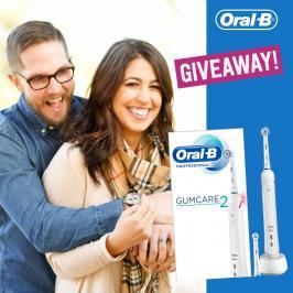Διαγωνισμός με δώρο ηλεκτρική Οδοντόβουτρσα Oral-B Professional GumCare2