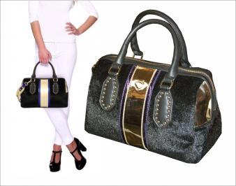 Διαγωνισμός με δώρο μια υπεροχη glamour τσάντα της εταιρειας LE PANDORINE με συνθετικη γούνα και μεταλλικές λεπτομέρειες