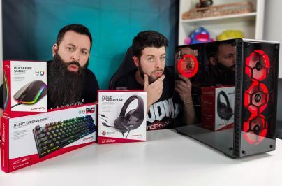 Διαγωνισμός για 1 Gaming PC & Gaming Περιφερειακά (ακουστικά, ποντίκι, πληκτρολόγιο)