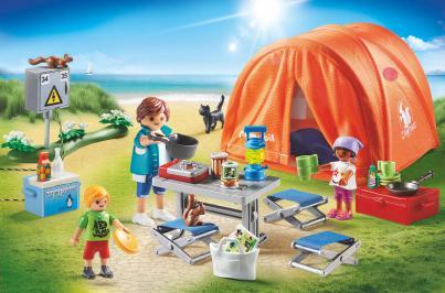 Διαγωνισμός με δώρο οικογενειακή Σκηνή Camping της εταιρείας PLAYMOBIL!