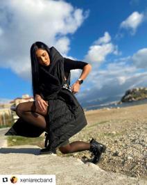 Διαγωνισμός για γυναικείο μπουφάν αμάνικο καπιτονέ με κουκούλα KIKISIX