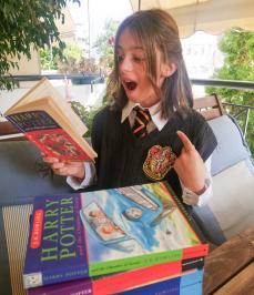 Διαγωνισμός για ολόκληρη την σειρά βιβλίων του Harry Potter!!!!