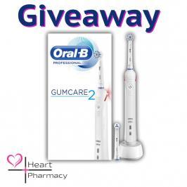 Διαγωνισμός με δώρο ηλεκτρική οδοντόβουρτσα ORAL-B Gumcare 2 αξίας: 80,77€