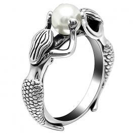 Διαγωνισμός με δώρο μοναδικό δαχτυλίδι, χειροποίητο 925 ασήμι και μαργαριτάρι