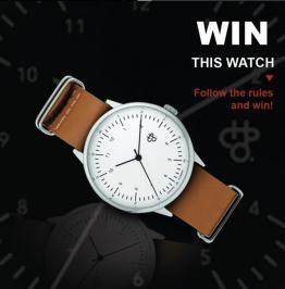Διαγωνισμός με δώρο ρολόι CHPO