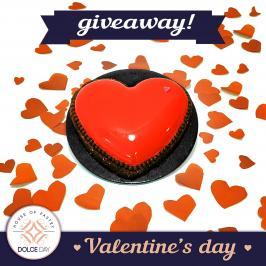 Διαγωνισμός για μια ΤΟΥΡΤΑ ΚΑΡΔΙΑ με brownies φουντουκιού, διπλή σοκολάτα και επικάλυψη φράουλας, για τη γιορτή του Αγ. Βαλεντίνου!