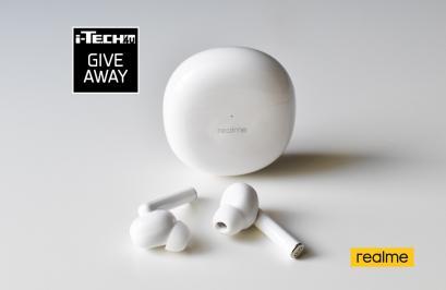 Διαγωνισμός με δώρο 1 ζευγάρι ακουστικών realme Buds Air Pro αξίας 89,90€