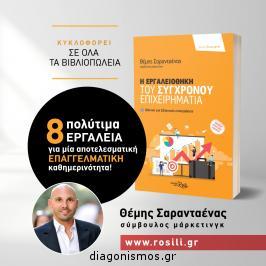 Διαγωνισμός με δώρο 1 αντίτυπο απο το καινούργιο βιβλίο του συγγραφέα και συμβούλου marketing Θέμη Σαρανταένα, με τίτλο