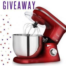 Διαγωνισμός με δώρο κουζινομηχανή Izzy Spicy Red IZ-1500
