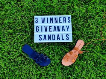 Διαγωνισμός με δώρο δερμάτινα σανδάλια