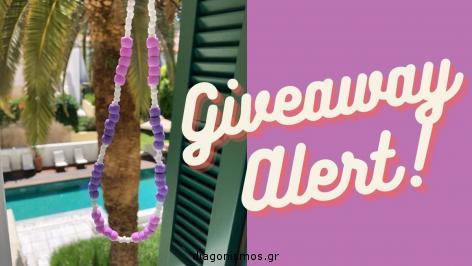 Διαγωνισμός για ένα κολιέ από τα Grove Jewels με πολύχρωμες χάντρες που αποτελεί την πιο hot τάση του φετινού καλοκαιριού.