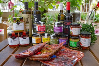 Διαγωνισμός με δώρο ένα καλάθι με ελληνικά προιόντα της φωτογραφίας Evge Hellenic Food Company