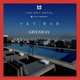 Διαγωνισμός για δείπνο για 2, στο Sky Bar του Ξενοδοχείου ΤΗΕ ΜΕΤ στη Θεσσαλονίκη