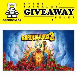 Διαγωνισμός με δώρο το παιχνίδι Borderlands 3, για PC (έκδοση steam), αξίας 59.99€