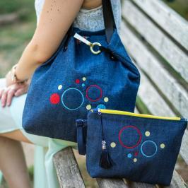 Διαγωνισμός με δώρο 1 υπέροχο σετ από ένα τσαντάκι καρπού και μια τσάντα ώμου για τις καθημερινές εμφανίσεις σας Ewas collection