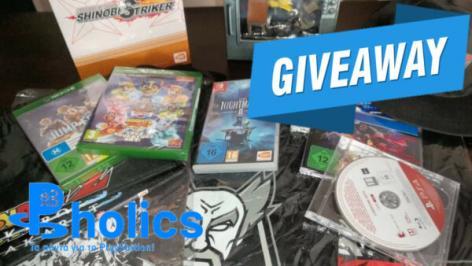 Διαγωνισμός με δώρο τρία απίθανα gaming πακέτα, για τις αγαπημένες σας κονσόλες, τα οποία περιέχουν games, φιγούρες και αυθεντικό Merchandise υλικό!