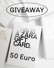 Διαγωνισμός για δωροκάρτα αξίας 50 ευρώ για ηλεκτρονικές αγορές από τα Zara