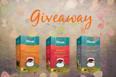 Διαγωνισμός με δώρο ένα Ceylon Supreme Black Tea, ένα English Breakfast Tea και ένα Earl Grey Tea από τη σειρά Gourmet της Dilmah